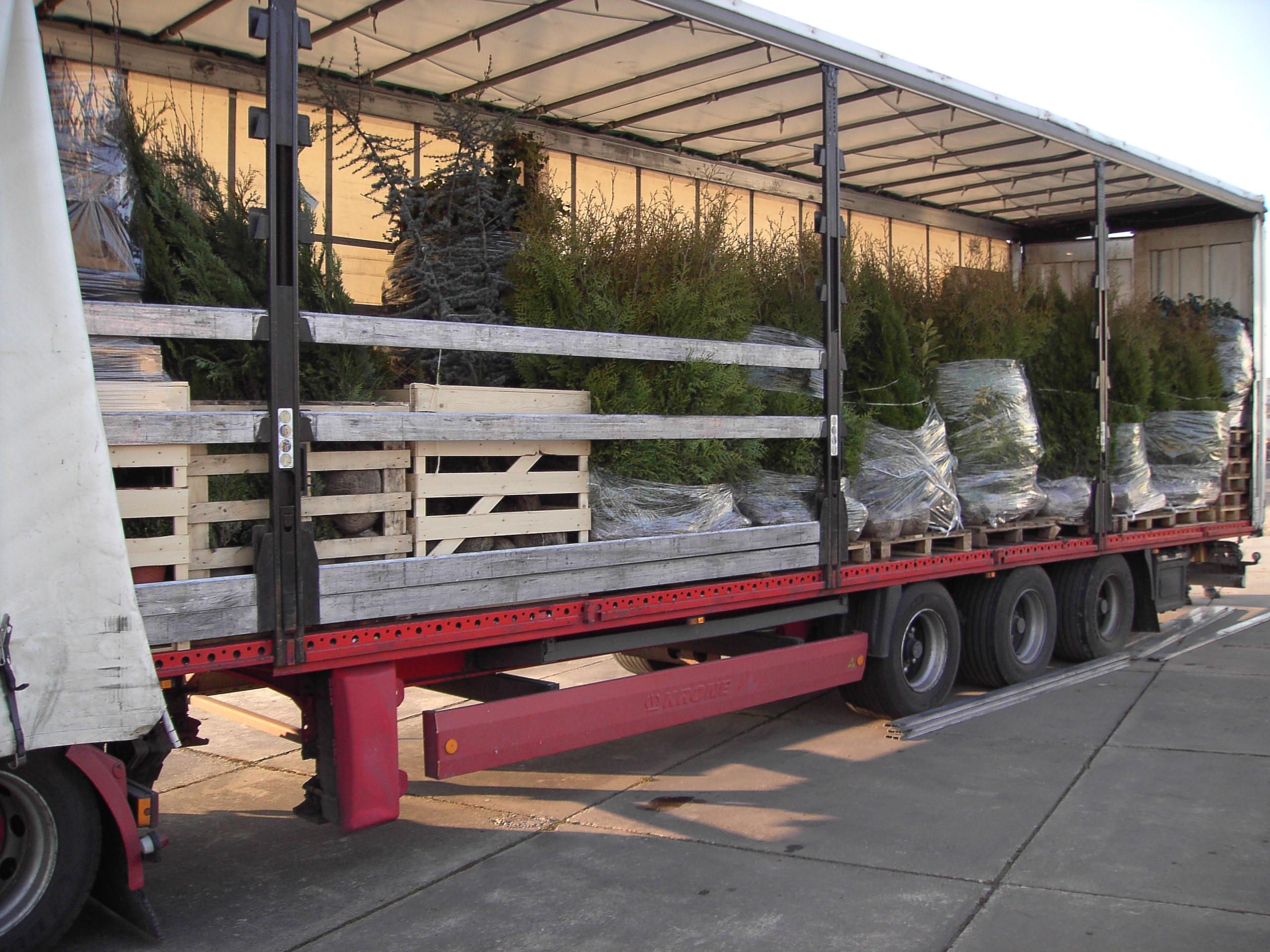 Export van planten naar Duitsland